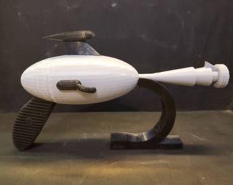 3D Print - Retro Scifi Ray Gun 10'' - Customize!