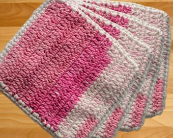 Holders and Dishcloths - set of 4