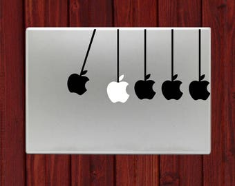 Newton Cradle Law of Physics Macbook Decal Stickers Mac Pro / Air / Retina Sizes 13 / 15 / 17 Laptop Cover
