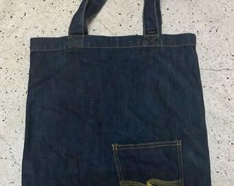 Nudie Jean Denim Tote Bag Free Shipping