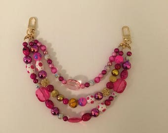 Pretty in Pink Chain Charm