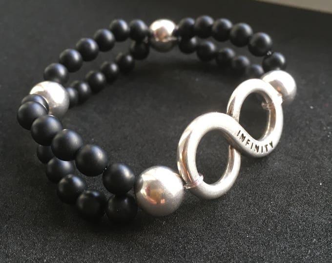 Free shipping within NL bracelet bracelet natural stone gemstone Infinity