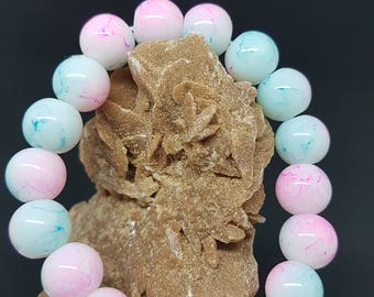 HANDMADE Natural Stone Glass Beads Charm Fashion BRACELET