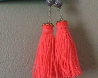 Dangling Tassle Earrings