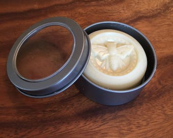 SOLID LOTION BAR,  Soothes Conditions and Protects Dry Skin