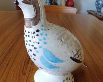 Red Wing Bobwhite Quail  hors d'oruvres mid century