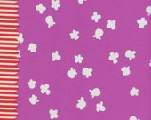 Popcorn in Plum - Penny Arcade Collection -Fabric by Kimberly Kight for Cotton + Steel