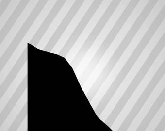Woman 3 Silhouette - Svg Dxf Eps Rld Rdworks Pdf Png Ai Files Digital Cut Vector File Svg File Cricut Laser Cut