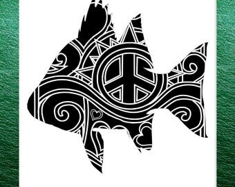 Perch Papercut Template Mandala Henna - Svg Paper Cut Templates Stencil Line Art Pdf Cut Files Digital Clip Art Drawing