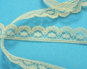 BEIGE lace: width 9mm (19)
