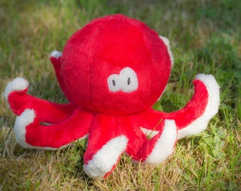Plush Otto the ocopus