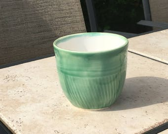 Ceramic Green Cup