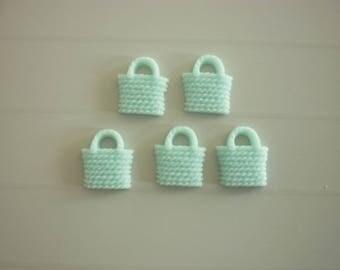 5 basket tote for resin craft embellishment scrapbooking