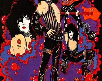 KISS Solo Album Art Prints