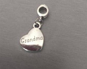 HEART 30 inscription GRANDMA