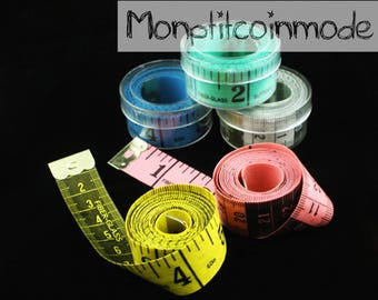 Green tape seamstress 1 m 50 different colors