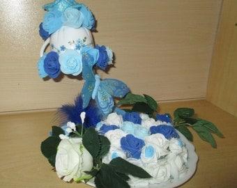 Table decoration, gravity flowers