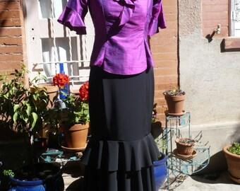 Flamenco skirt, size 38
