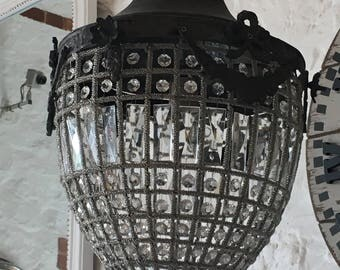 Vintage Belgium Ormolu chandelier