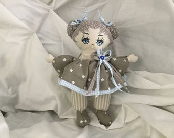 Chloe doll cloths for child's room