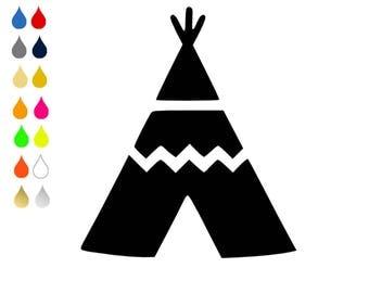 FLEX pixel pattern / TEEPEE / choose colors