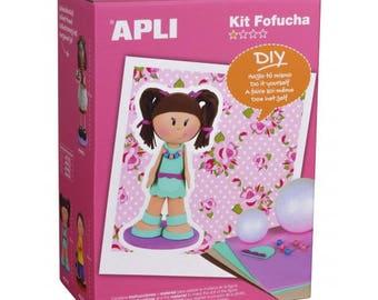 1 kit fofuchas girl three stars for insider girl 30 cm