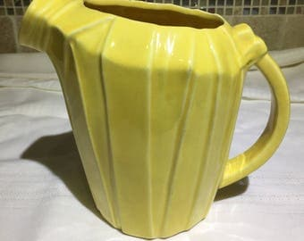 McCoy Yellow Pitcher