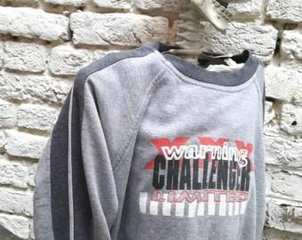 Vintage 90s CHALLENGER printed Sweatshirt