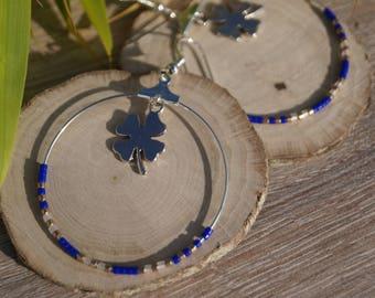 Rings clover earrings