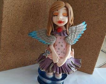 Small porcelain Angel figurine
