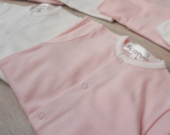 Newborn  Outfits -Pima Cotton- Newborn Baby Girl-Babylist-Newborn Gift