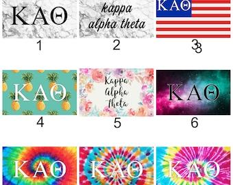 Kappa Alpha Theta Sorority 3' x 5' Flag