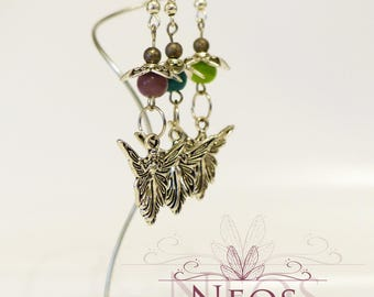 Fairies and florilules - choose from 3 colors earrings