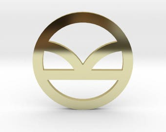 Kingsman Logo Lapel Pin/Tie Tack| Kingsman The Golden Circle Symbol Wedding Suit Pin | Gold | Silver | Rose Gold | Bronze | FREE SHIPPING