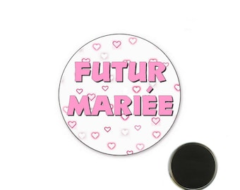 Magnet future married - bachelorette party 25 mm