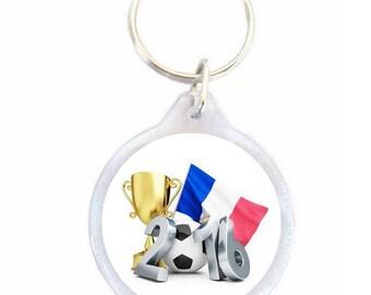 Euro 2016 Ø40mm football keychain