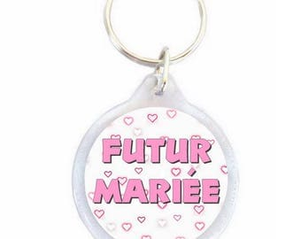 Key ring future married - bachelorette party