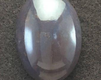 Texas Purple Jasper 29x21 mm Oval Cabochon
