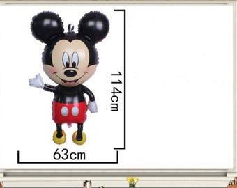 Birthday Mickey deco helium balloon