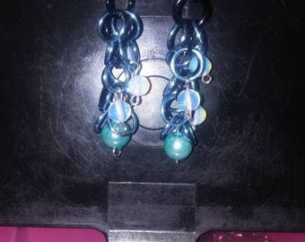 Nice Chainmaille dangle earrings