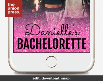 Snapchat Filter Bachelorette Party - Bachelorette Snapchat Geofilter - Bachelorette Party Snapchat Filter
