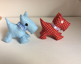 Scottie Dog Pin Cushions