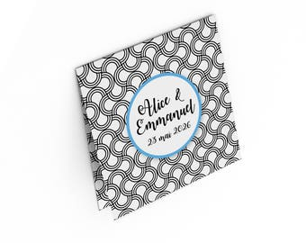 Wedding invitation - Art deco - to customize
