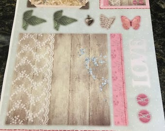 Kit scrapbooking card making, invitation
