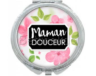 "POCKET MIRROR ""SWEET MOM"" MOTHER'S DAY SPECIAL"