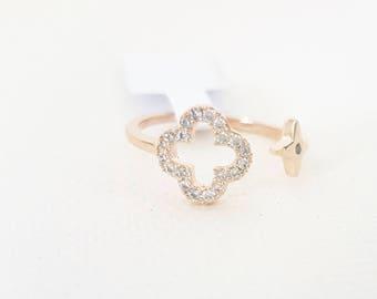 Clover ring MJ024