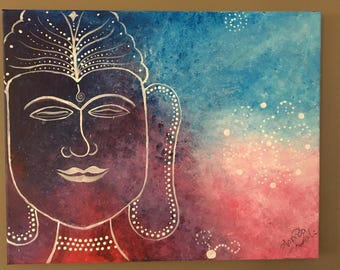 Galaxy Buddha Painting
