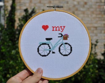 Bike Cross Stitch