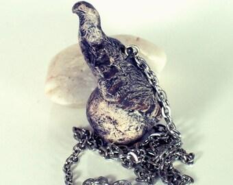 Ceramic Eagle necklace