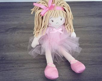 Doll 30 cm with her tutu Velvet